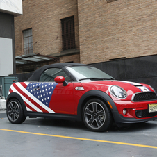 Mini began selling cars in the US in 2002