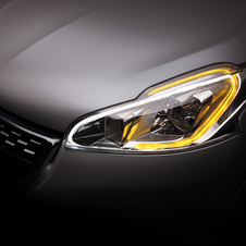 Both cars get new halogen headlights with LED accents