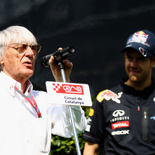 Ecclestone is accused of bribing a German banker