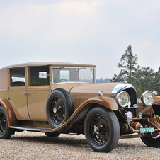 Bentley 6½-Litre Sedanca de Ville by H.J. Mulliner