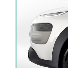 The car appears to be a compact crossover