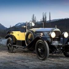 The car was the first British car to hit 100mph