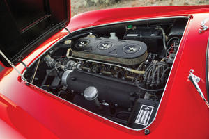 The Ferrari had a 3.0-liter V12