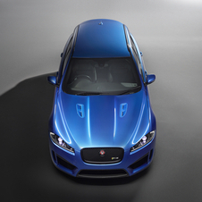 The XFR-S Sportbrake has also been subtly modified in order to allow the car to achieve its full potential