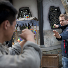 Sebastian Vettel Films Martials Arts Movie in China