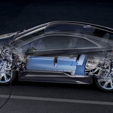 The Cadillac ELR uses a series hybrid where the engine charges the battery