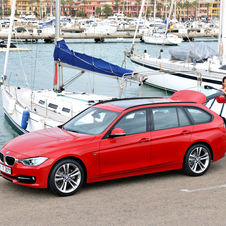 BMW 320d EfficientDynamics Touring