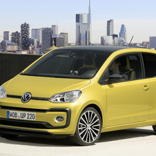 Volkswagen Up 1.0 TSI high up! BlueMotion