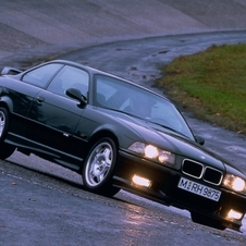 The E36 M3 came in 1992 but did not quite have the first car's racing success