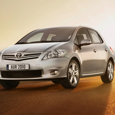 Toyota Auris 1.6 VVT-i Exclusive