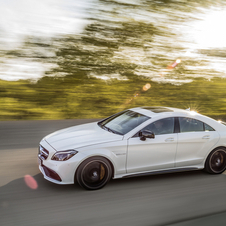 The CLS 63 AMG version remains at the top of the range,