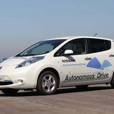 The Leaf has already been tested as an autonomous car