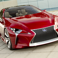 The LF-LC debuted at the 2012 North American International Auto Show