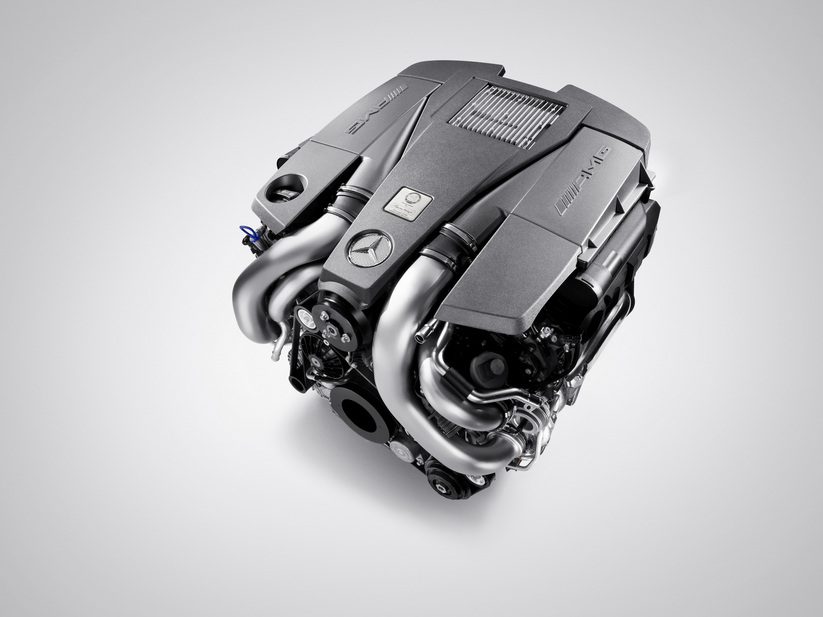 New AMG engine equips the Mercedes-Benz S 63 AMG