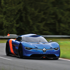 The A110-50 was revealed at the Monte Carlo Grand Prix