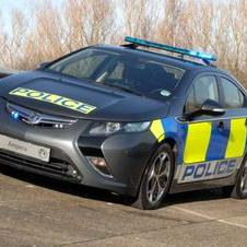 Vauxhall Showing Police-Livery Ampera