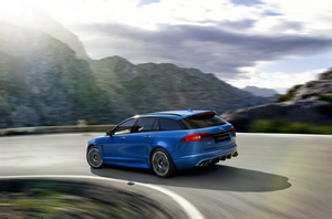 The Jaguar XFR-S Sportbrake incorporates engineering features from both the XKR-S and the all-new F-TYPE two-seater sports car