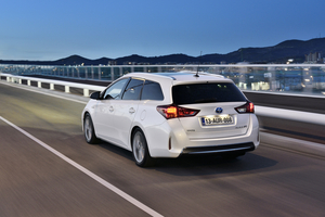 Toyota expects the hybrid to be 45% of the sales