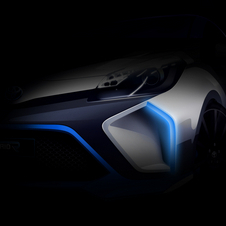 Toyota says that the Hybrid-R concept is based on an existing model with a TS030-inspired hybrid system