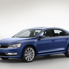 The Passat Bluemotion concept uses a small diesel to maximize efficiency