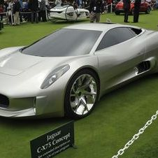 The early C-X75 concepts used a turbine engine to power electric motors
