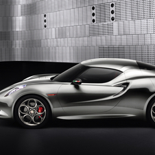 The 4C is meant to be a smaller, cheaper version of the 8C Competizione