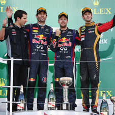 Red Bull and Lotus have been the big winners of whatever change was made