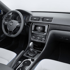 The interior gets a two-tone leather finish