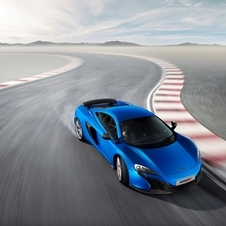 The 650S acelerates from 0 to 100km/h in just 3,0 seconds