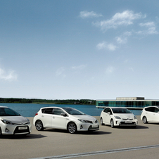 The Yaris and Auris are Toyota's bestselling models in Europe