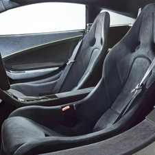 The interior of the 650S was lined in Alcantara