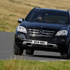 Mercedes-Benz ML350 CDI BlueEFF. Grand Edition