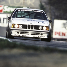 The 6-Series also went racing