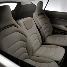 The interior can seat between four and seven people