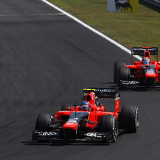 The Marussia team has not scored any points this season