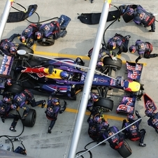 Red Bull holds the new pitstop record in F1 at 2.05 seconds