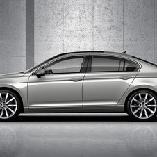 Volkswagen expects the model to compete with the BMW 3 Series and the Mercedes C-Class
