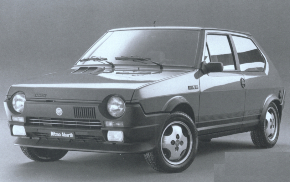 fiat ritmo abarth 125 tc 1 photo and 53 specs. Black Bedroom Furniture Sets. Home Design Ideas