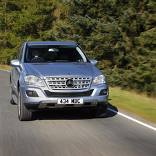 Mercedes-Benz ML 300 CDI BlueEfficiency 4Matic