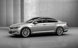 The new Passat is based on the MQB platform from Group Volkswagen