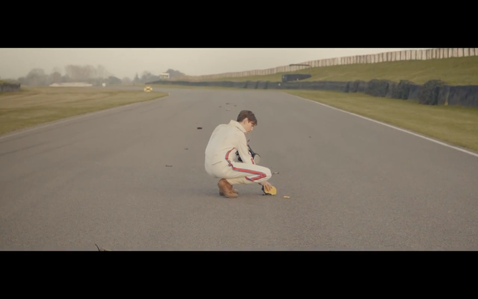 The film follows McLaren's ghost at Goodwood walking away from his crash