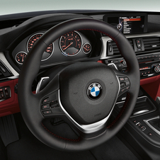 The interior comes basically from the 3 Series