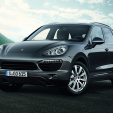 The Cayenne was the bestselling Porsche in 2013