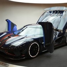 It was the 8th Agera chassis built