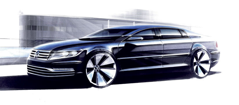 New VW Phaeton Due in 2015