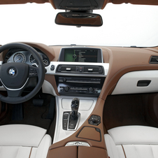 Inside, BMW is offering a two-tone package of light and dark leather