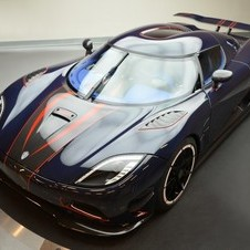 The cars were a stopgap between the Agera and Agera R