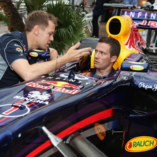 Ogier and Vettel met during the Grand Prix of Monaco