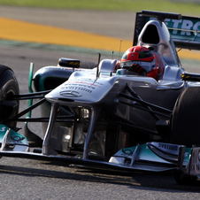 Michael Schumacher will drive the W02 around the Nürburgring prior to the 24-hour race on May 19
