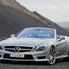 Mercedes SL63 AMG with Standard 537hp or Optional 564hp